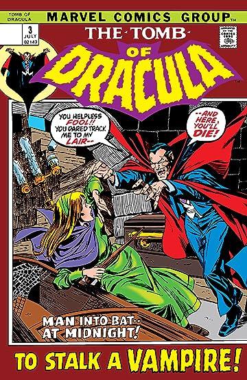 Tomb of Dracula (1972-1979) No.3
