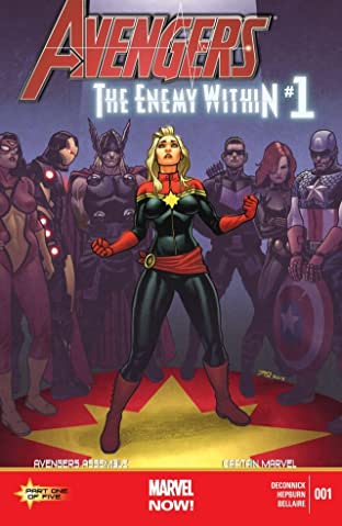 Avengers: The Enemy Within No.1