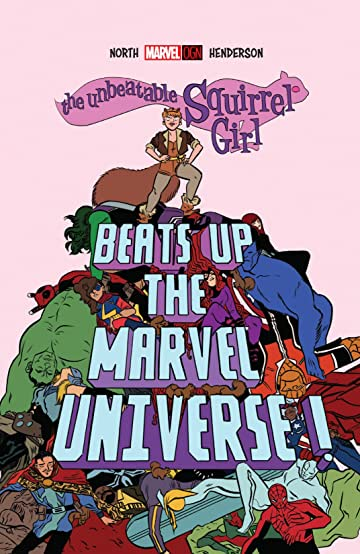 Image result for squirrel girl beats up the marvel universe