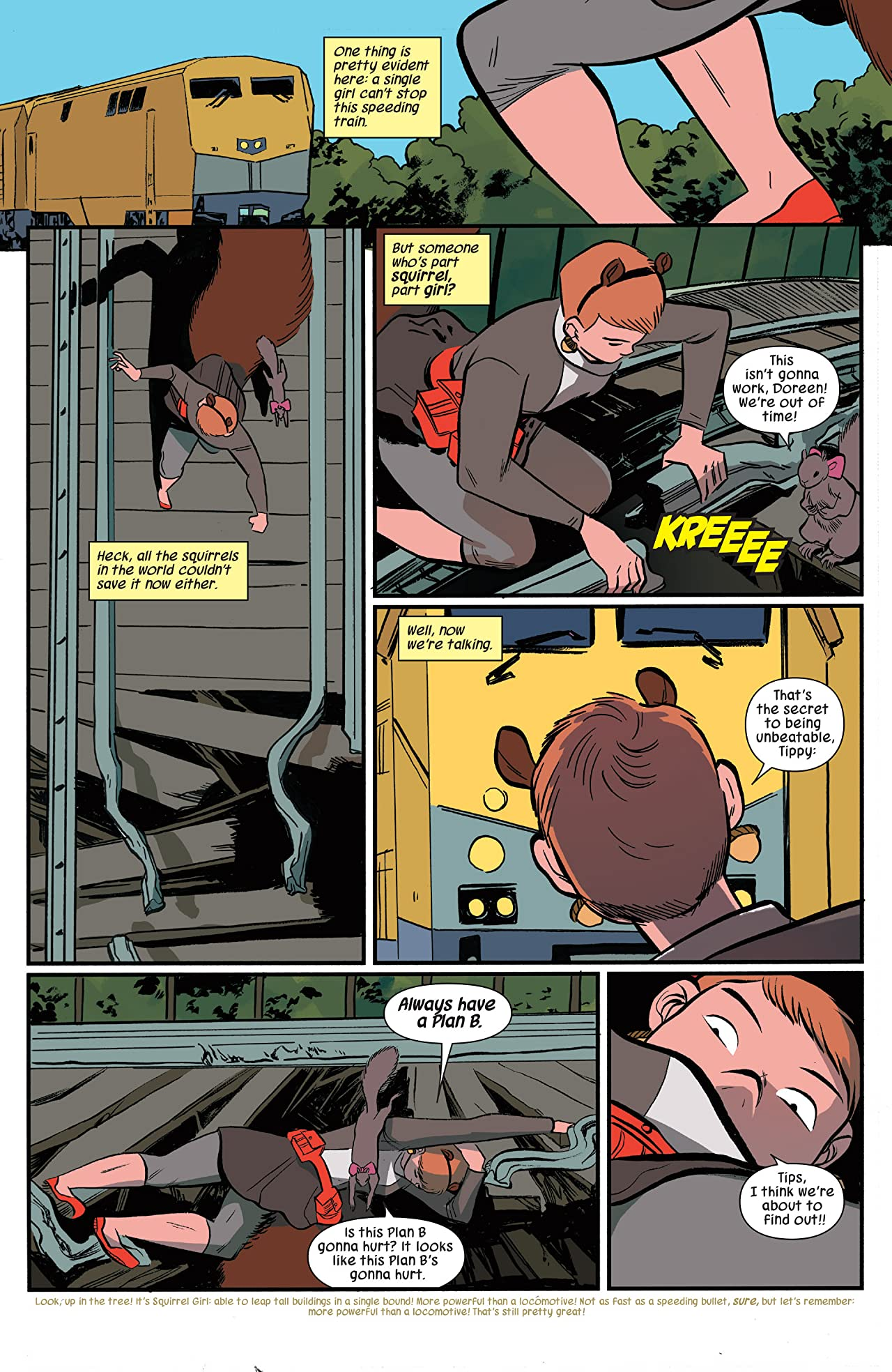 The Unbeatable Squirrel Girl Beats Up The Marvel Universe