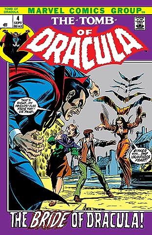 Tomb of Dracula (1972-1979) No.4