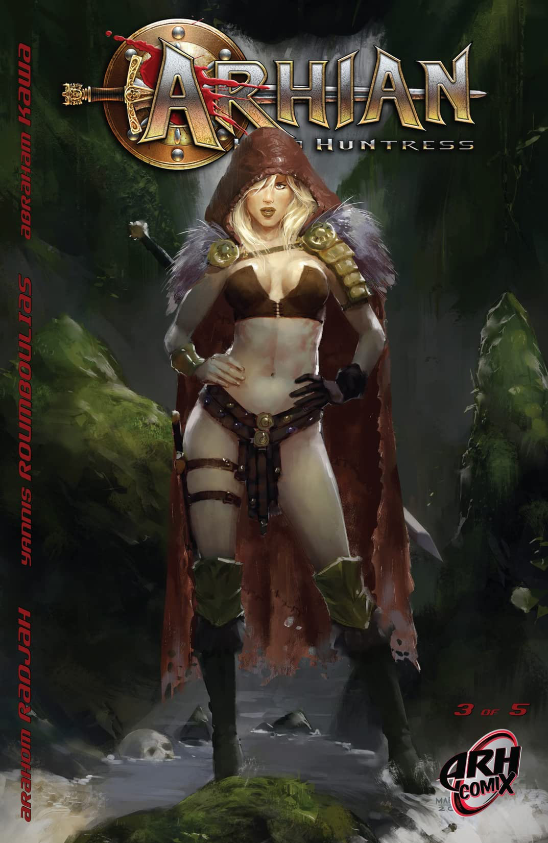 Arhian Head Huntress #3