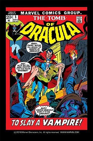 Tomb of Dracula (1972-1979) #5