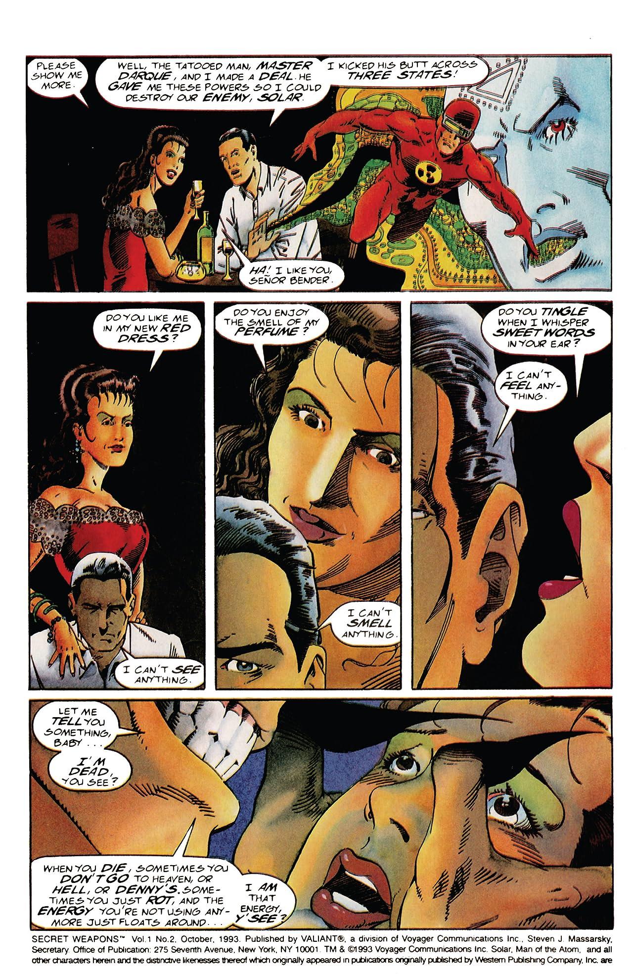 Secret Weapons (1993) #2