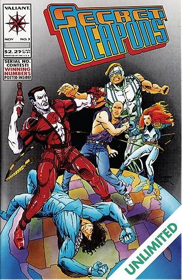 Secret Weapons (1993) #3