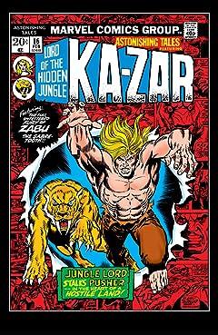 Astonishing Tales (1970-1976) #16