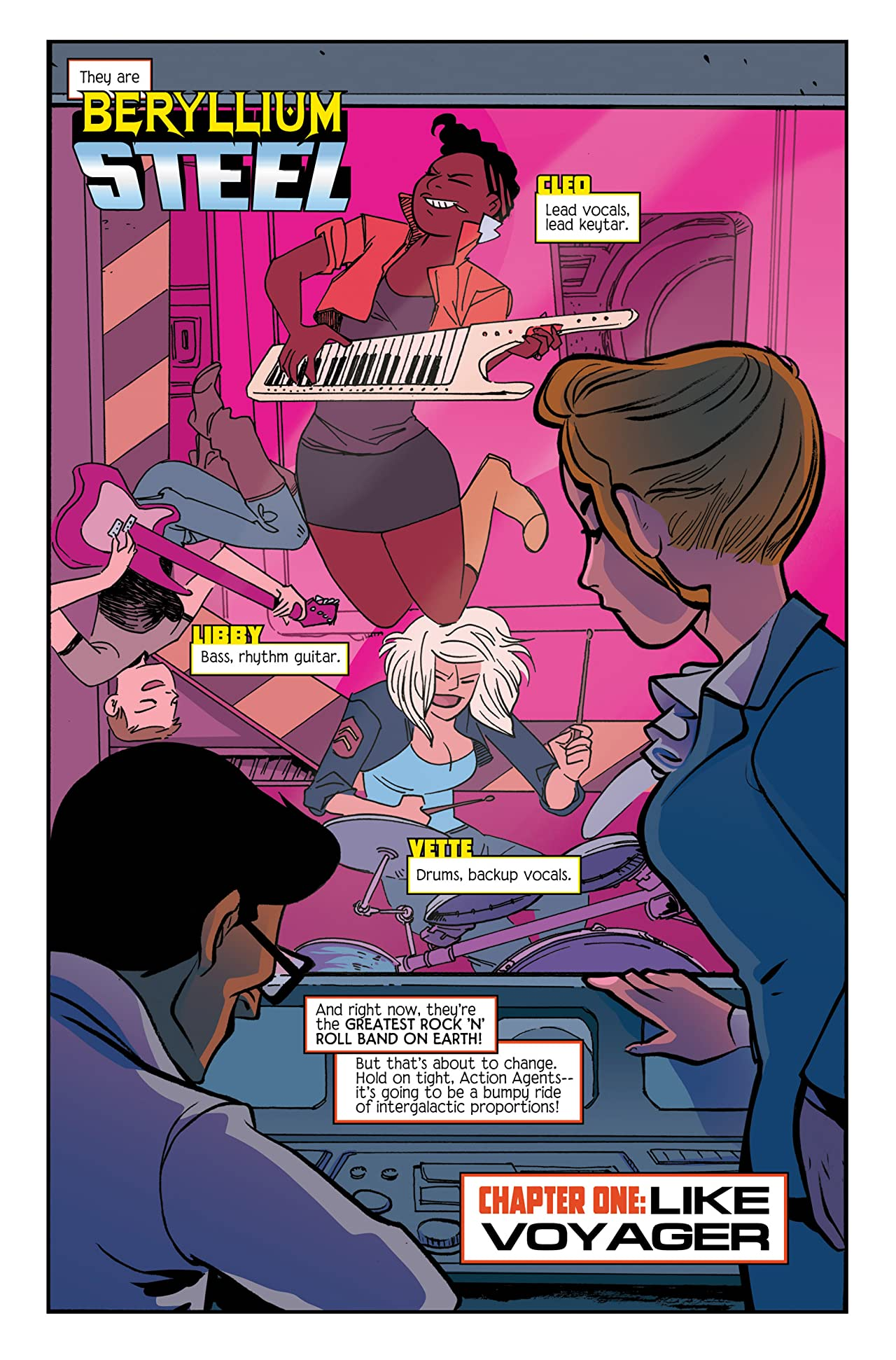 Subatomic Party Girls #1