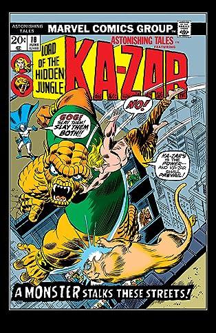 Astonishing Tales (1970-1976) #18