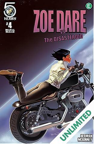 Zoe Dare vs The Disasteroid #4