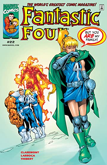 Fantastic Four (1998-2012) #22