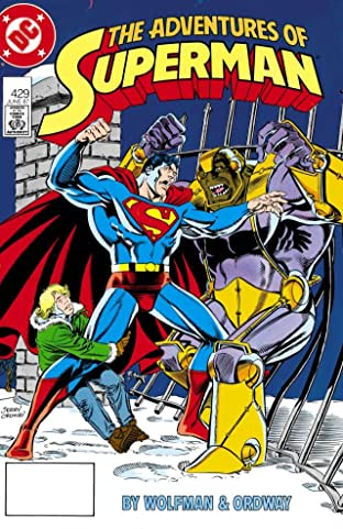 Adventures of Superman (1986-2006) No.429