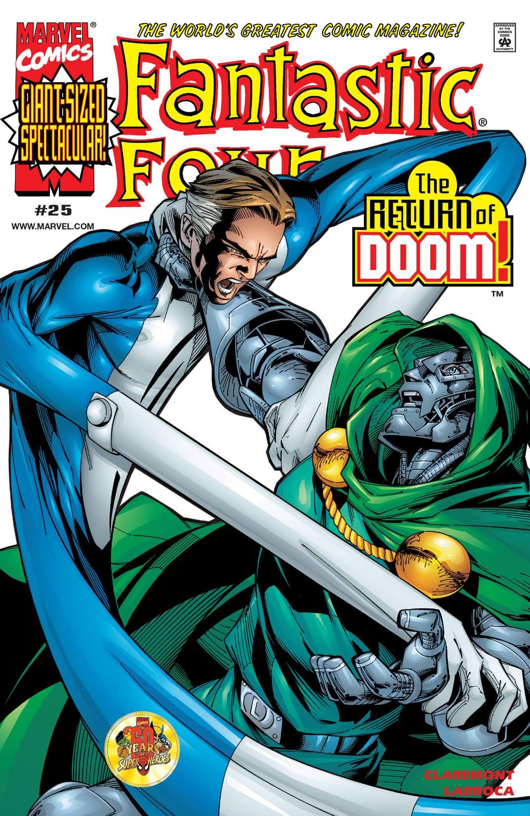 Fantastic Four (1998-2012) #25