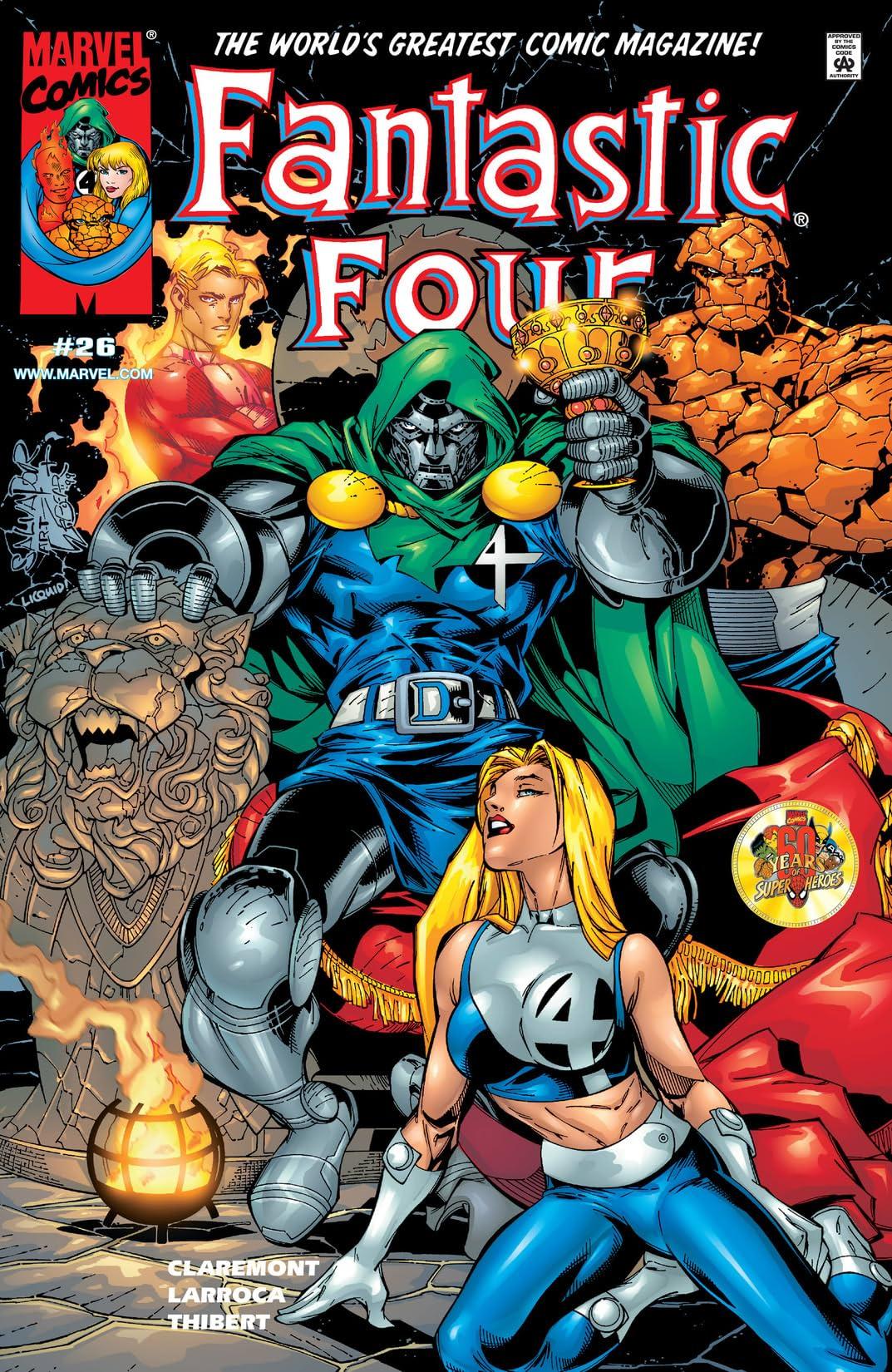Fantastic Four (1998-2012) #26
