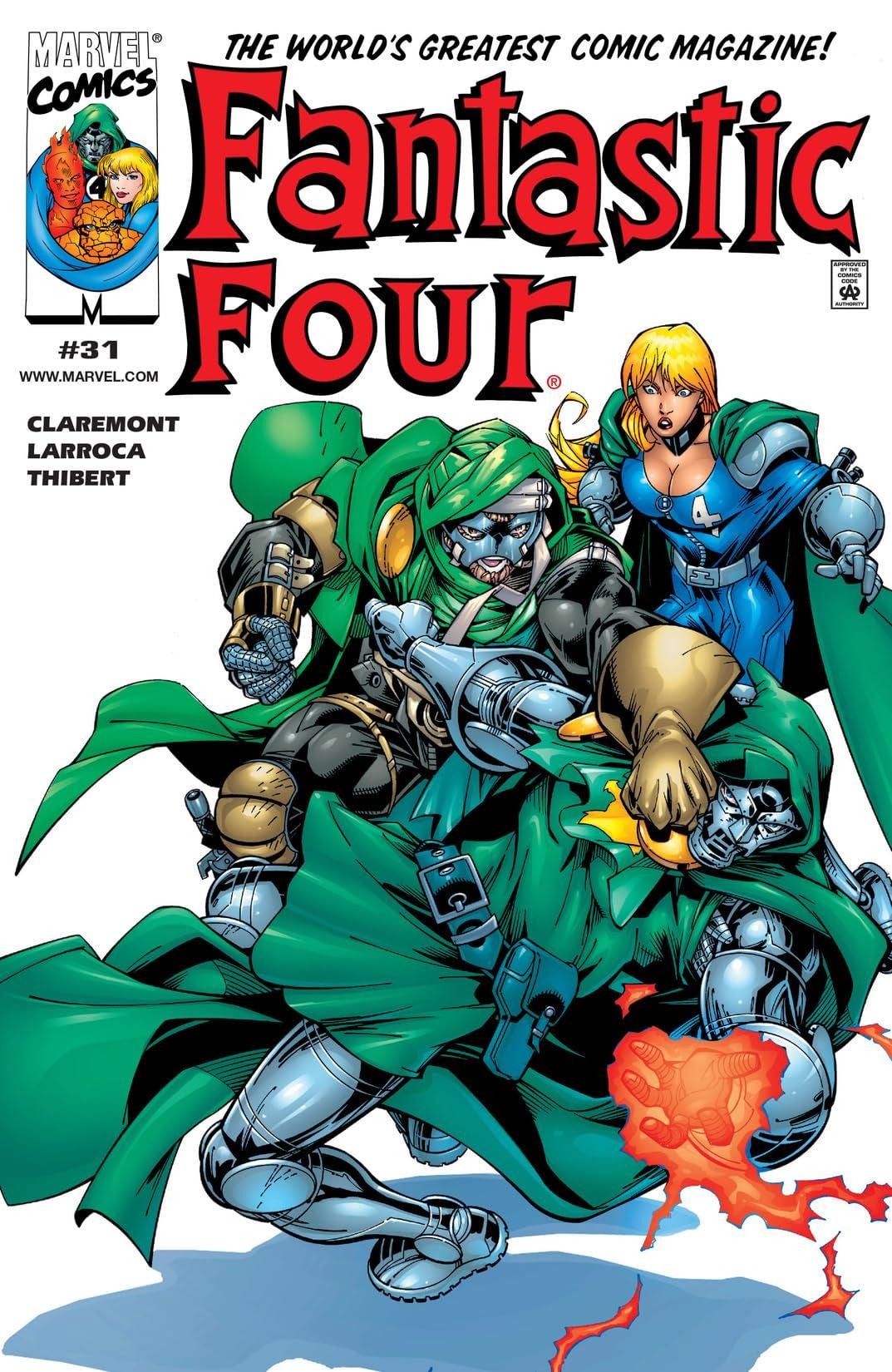 Fantastic Four (1998-2012) #31
