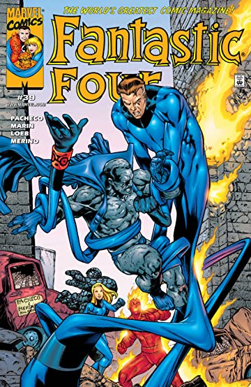 Fantastic Four (1998-2012) #39