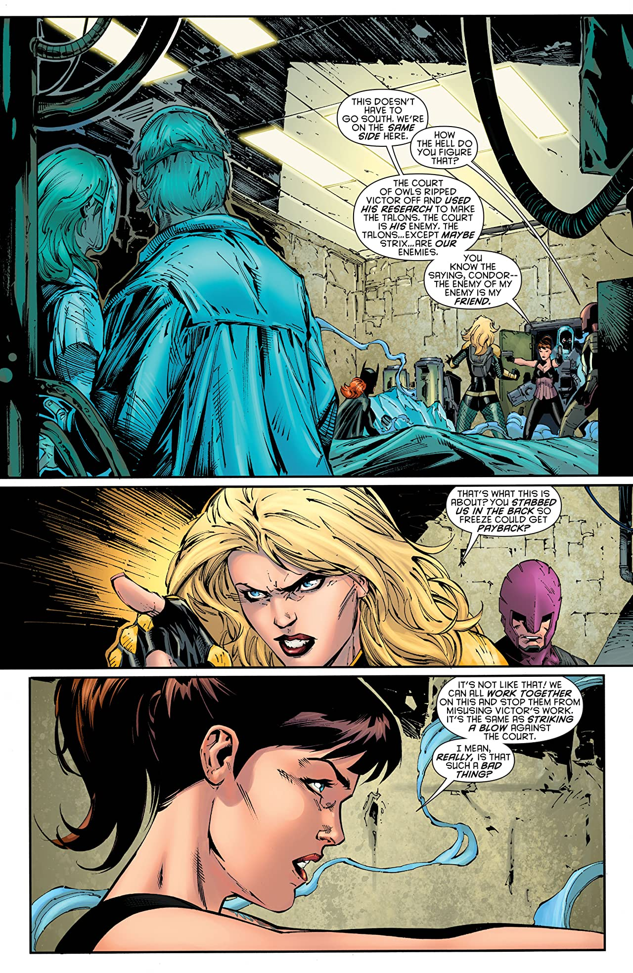 Birds of Prey (2011-2014) #20