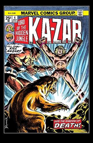 Ka-Zar (1974-1977) #4