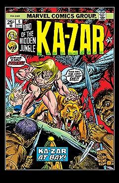 Ka-Zar (1974-1977) #5
