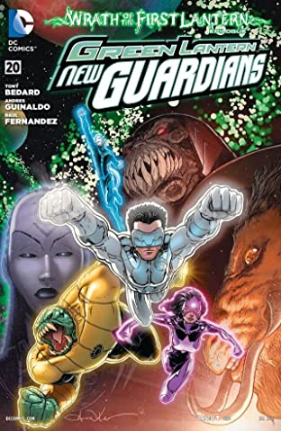 Green Lantern: New Guardians (2011-2015) #20