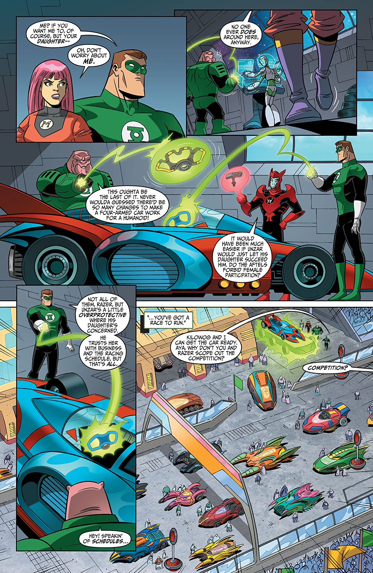 Green Lantern: The Animated Series #13