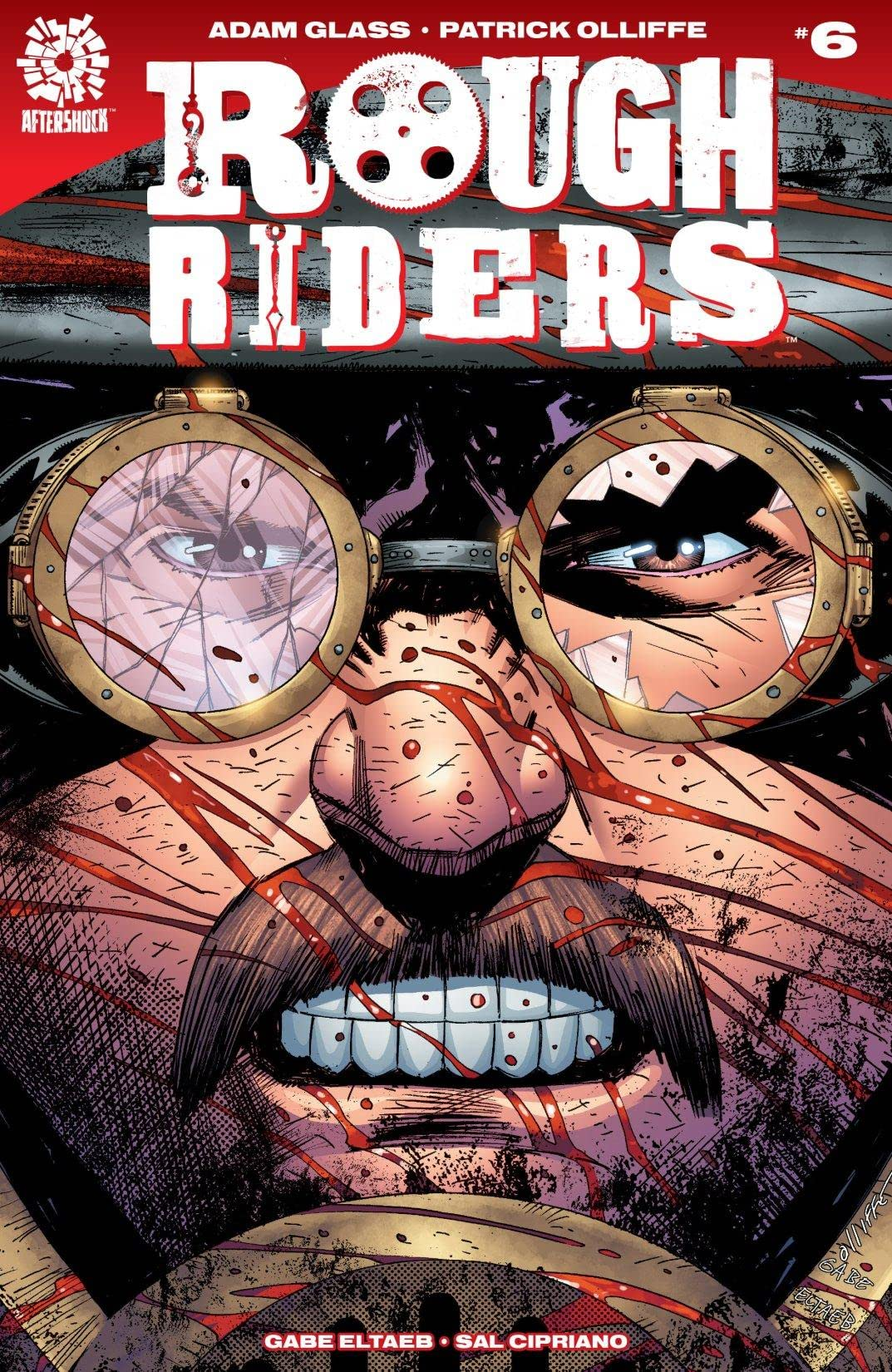 Rough Riders #6