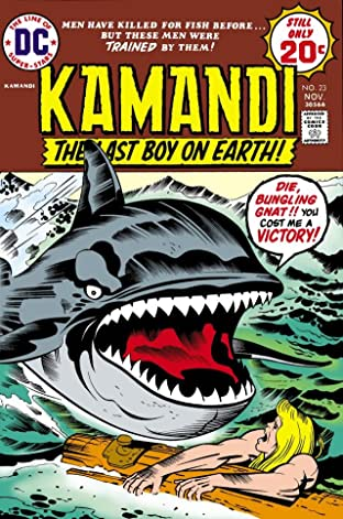 Kamandi: The Last Boy on Earth (1971-1978) #23