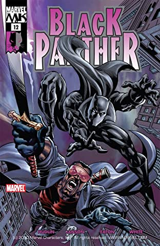 Black Panther (2005-2008) No.12