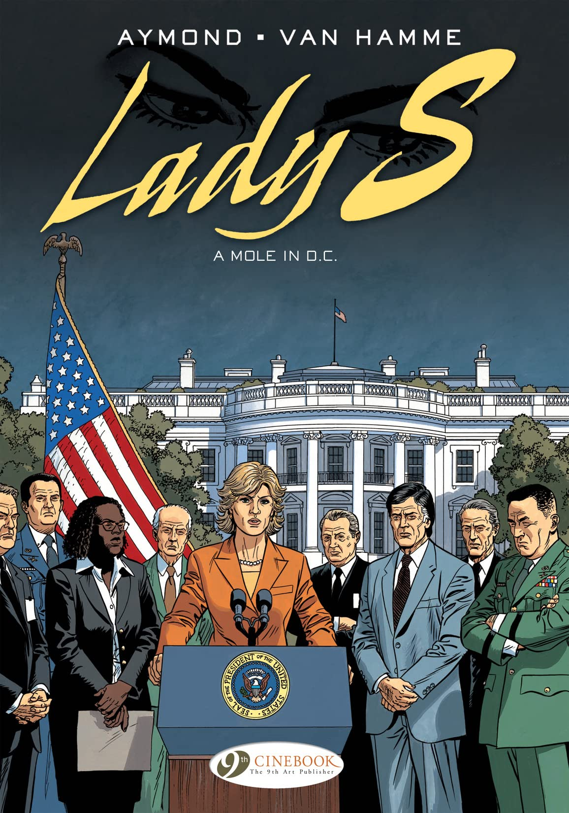 Lady S. Vol. 4: A Mole in D.C.