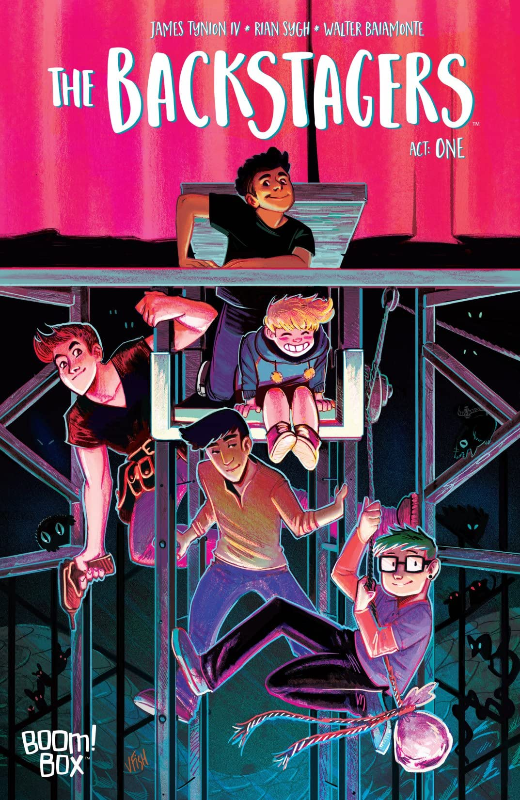 The Backstagers #1 (of 8)