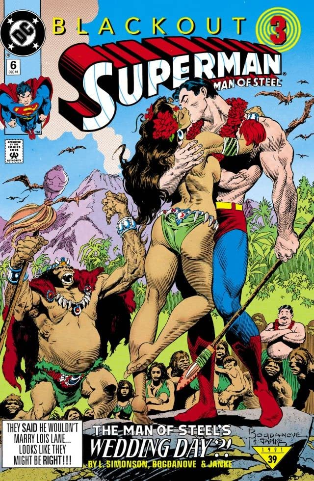 Superman: The Man of Steel (1991-2003) #6