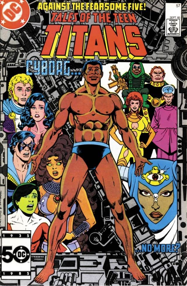 Tales of the Teen Titans (1984-1988) #57