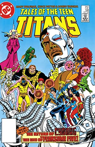 Tales of the Teen Titans (1984-1988) #58