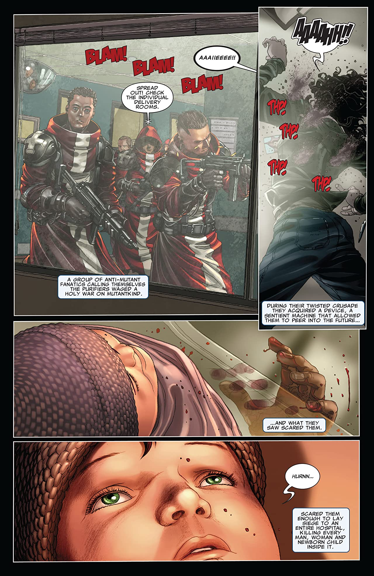 X-Force/Cable: Messiah War Prologue