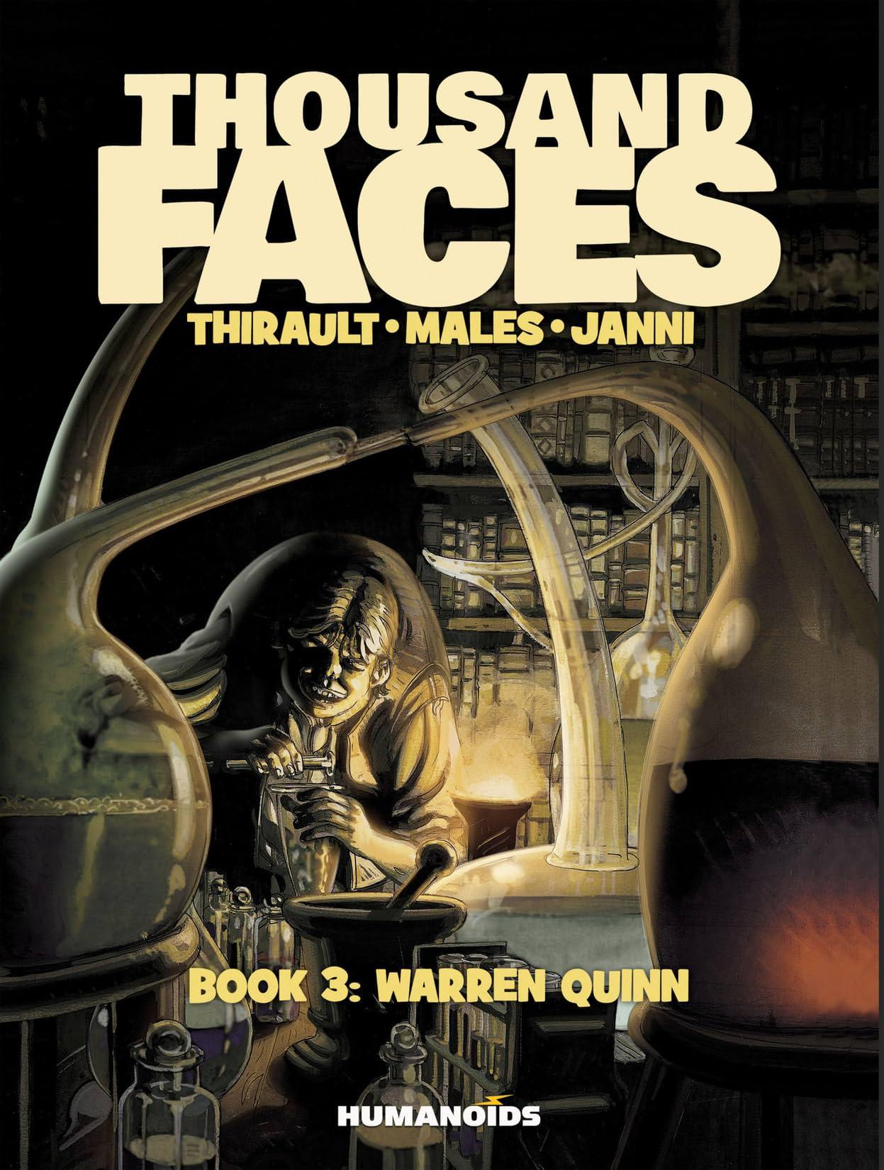 Thousand Faces Vol. 3: Warren Quinn