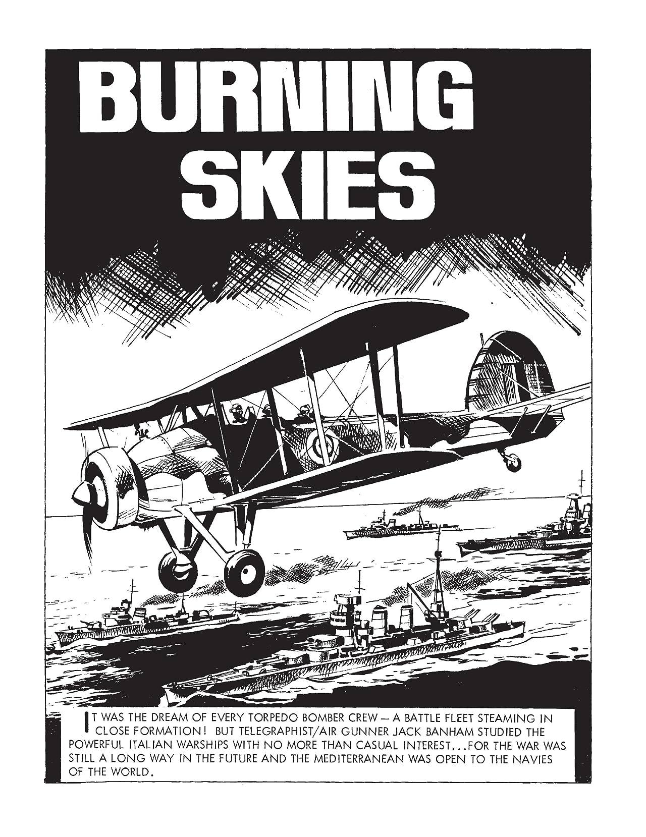 Commando #4938: Burning Skies