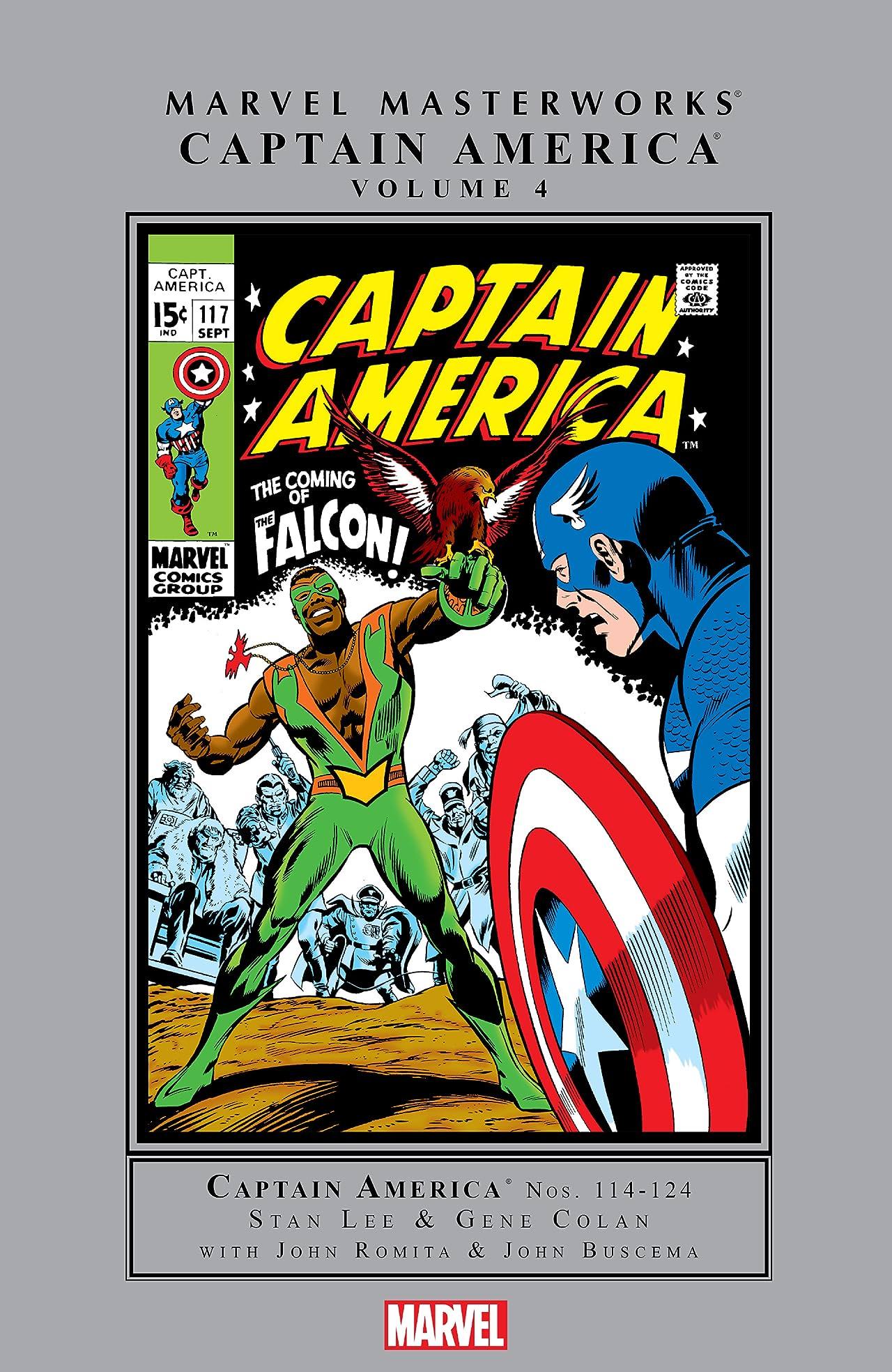 Captain America Masterworks Vol. 4