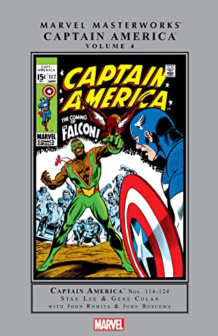 Captain America Masterworks Vol. 4