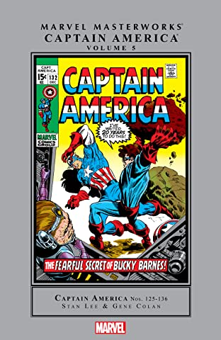 Captain America Masterworks Vol. 5