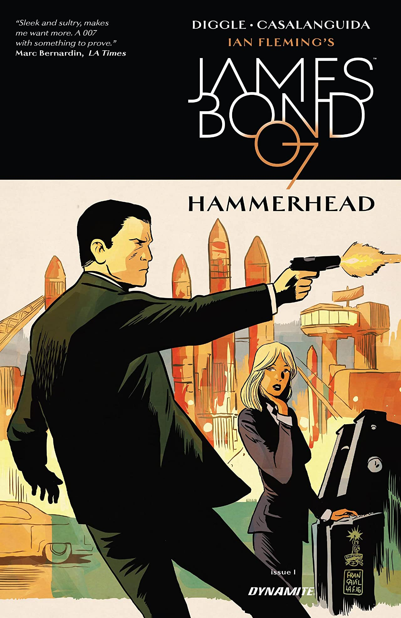 James Bond: Hammerhead (2016-2017) #1 (of 6)