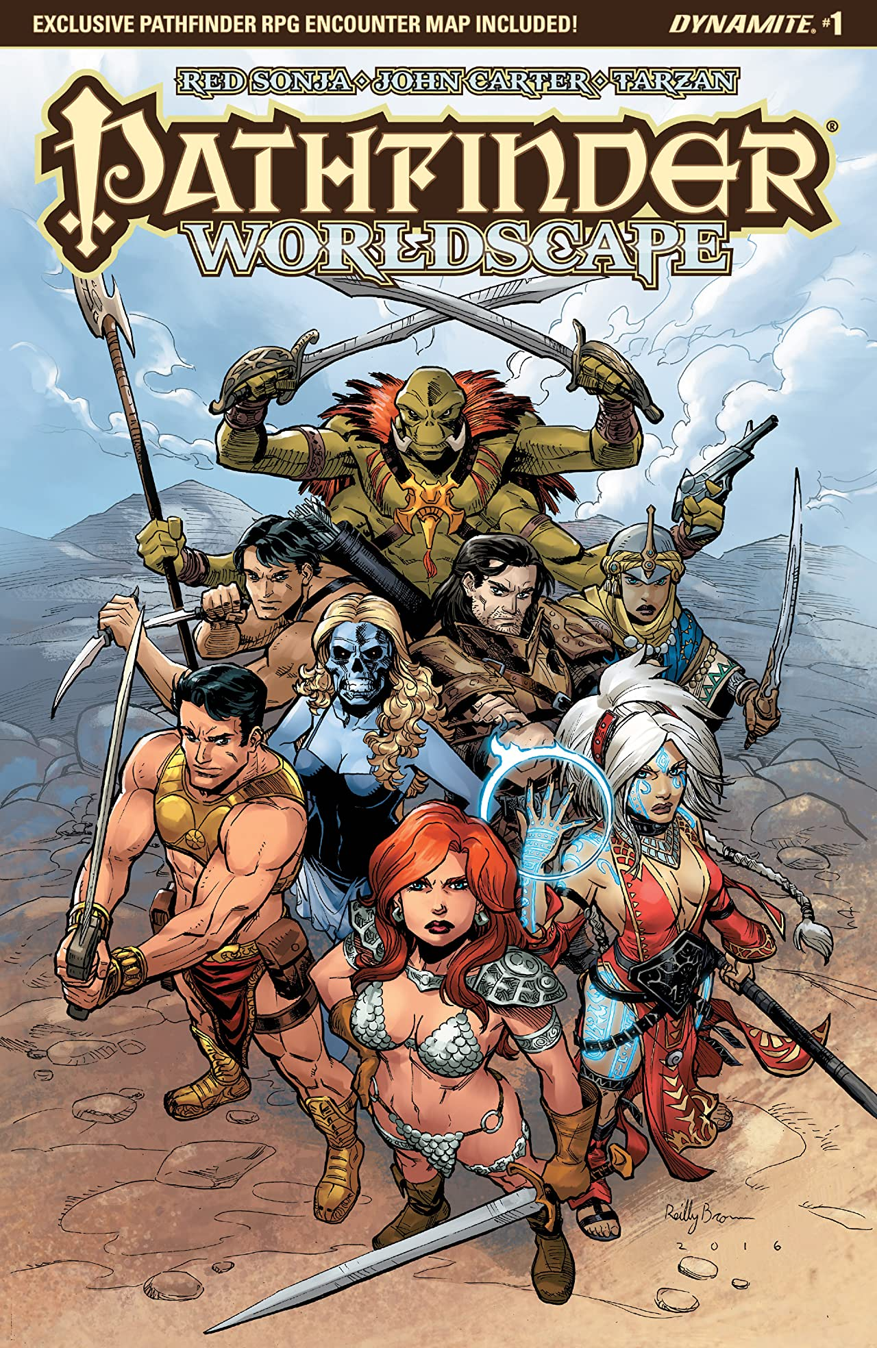 Pathfinder: Worldscape #1