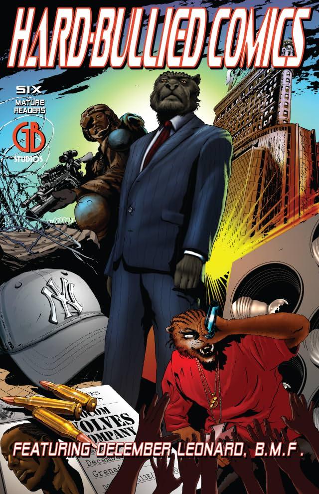 Hard-Bullied Comics #6