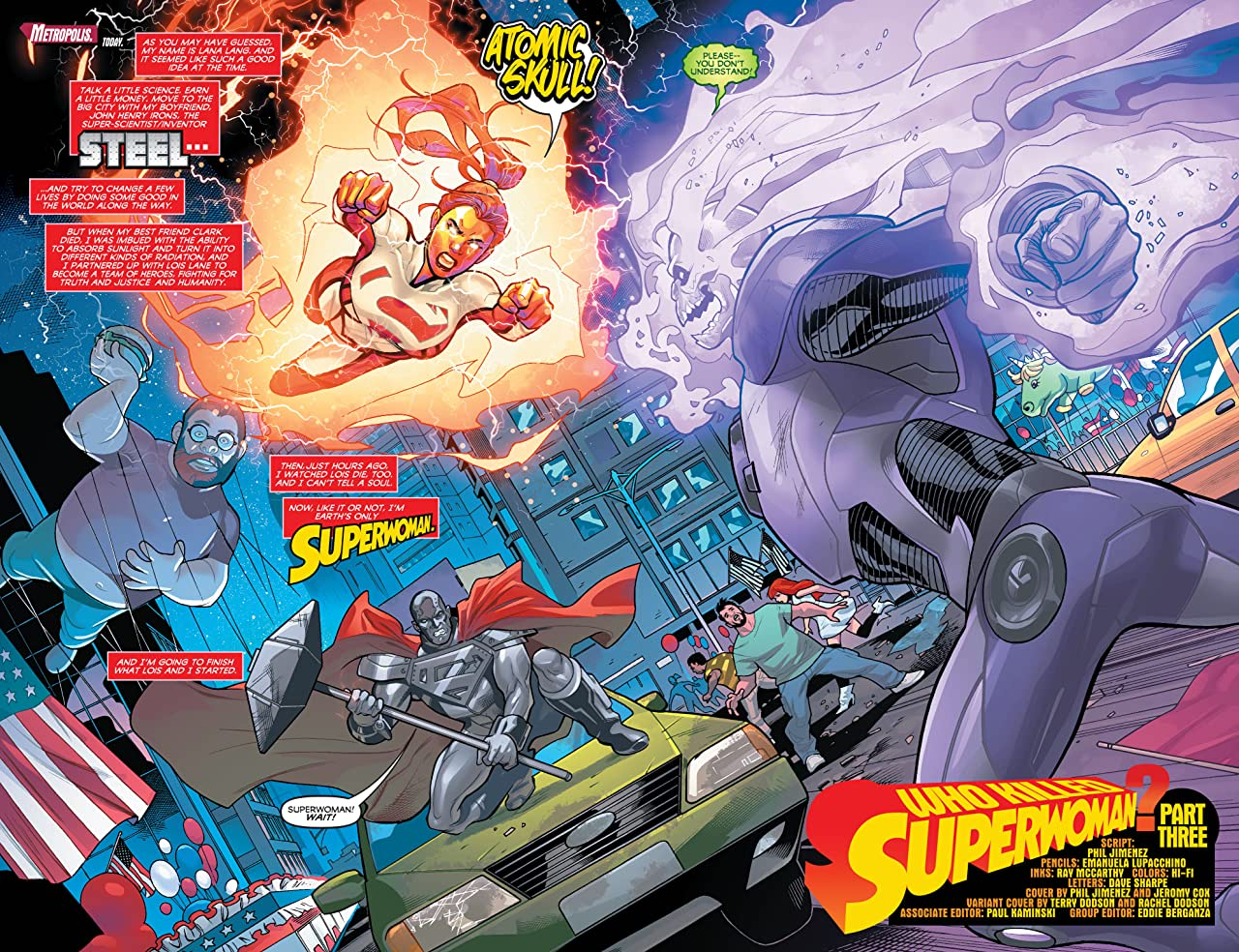 Superwoman (2016-2017) #3