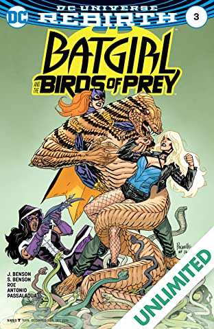 Batgirl and the Birds of Prey (2016-2018) #3