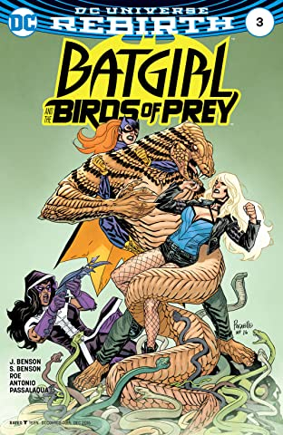 Batgirl and the Birds of Prey (2016-2018) No.3