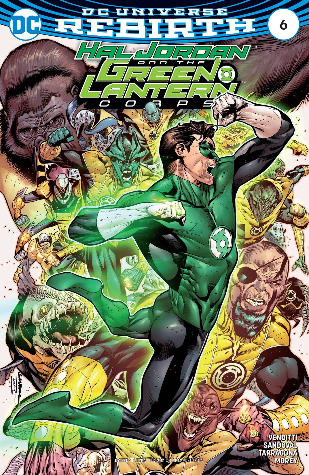Hal Jordan and the Green Lantern Corps (2016-2018) #6
