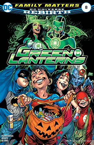 Green Lanterns (2016-) No.8