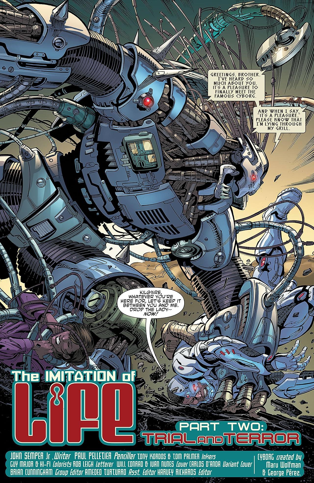Cyborg (2016-2018) #2