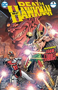 Death of Hawkman (2016-2017) #1
