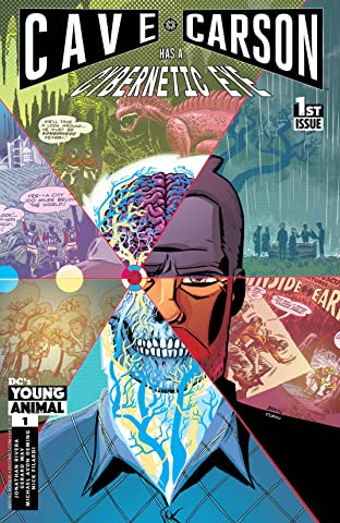 Cave Carson Has a Cybernetic Eye (2016-) #1