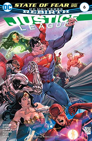Justice League (2016-2018) No.6